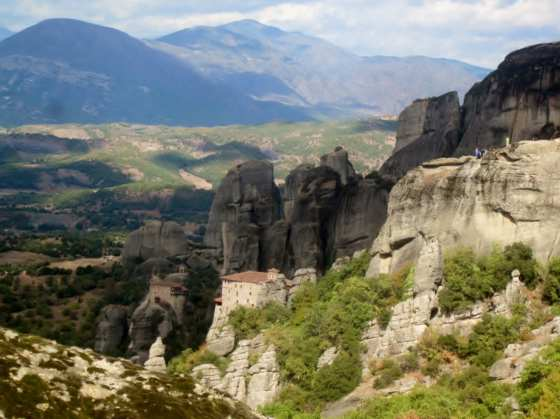 From Nature: Meteora Mountains