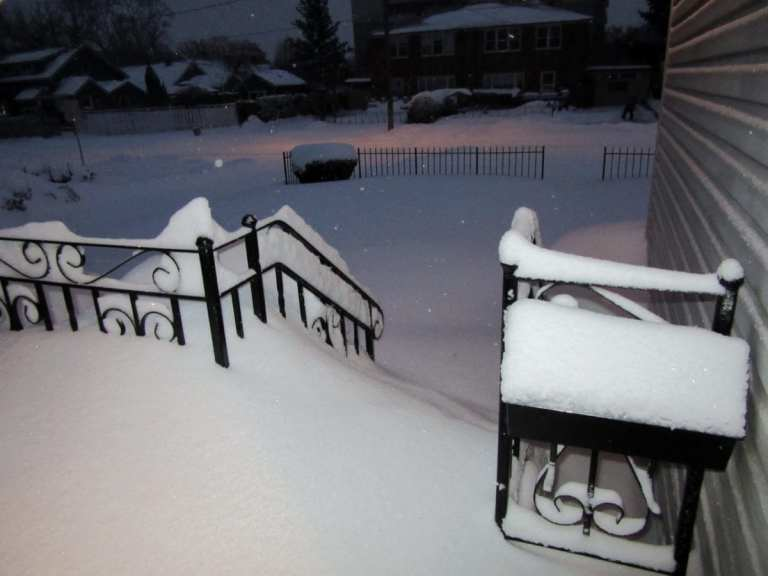 Weather - Photo Friday (Snow!)