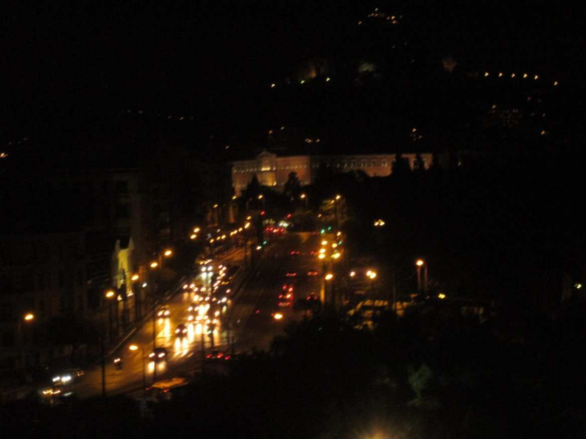 The city of Athens, Greece