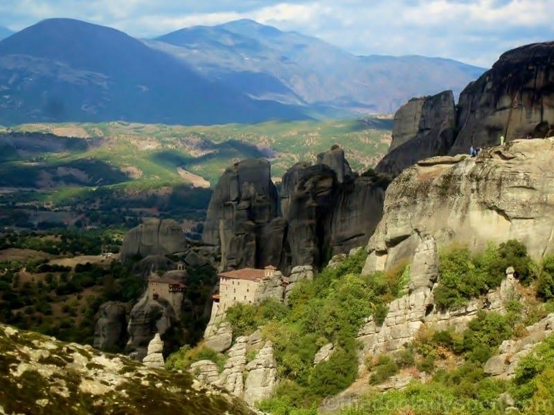 St. Nicholas & Roussanou Monasteries, Meteora