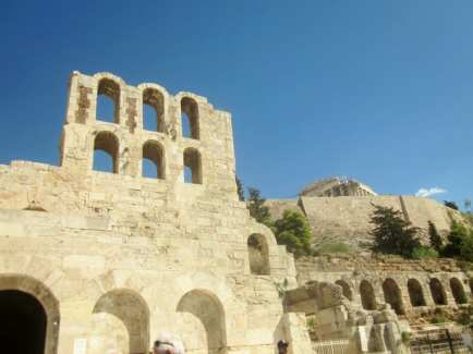 Acropolis wall