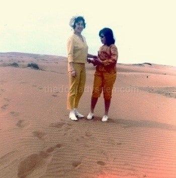 """vacation 1967, spanish sahara """"As She Lay Dying"""" The Doglady's Den"""