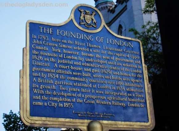 London, founding of