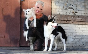 Andi with Rascal and Holiday