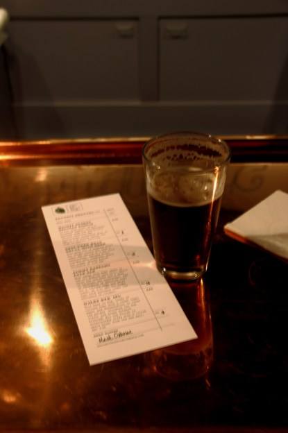 Glass and Beer List