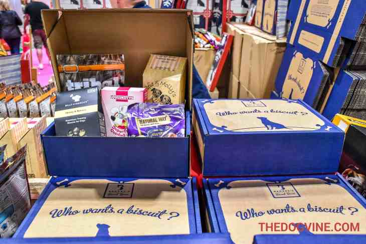 Discover Dogs 2016 - Barney's Biscuit Boxes