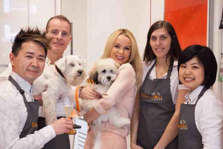 Amanda Holden Buddy Bow Wow London Dog Grooming Launch_8