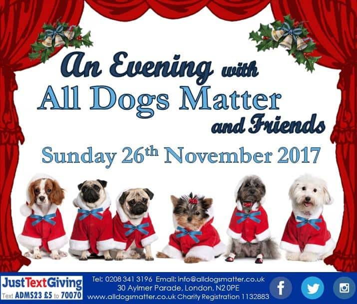 An Evening With All Dogs Matter 2017