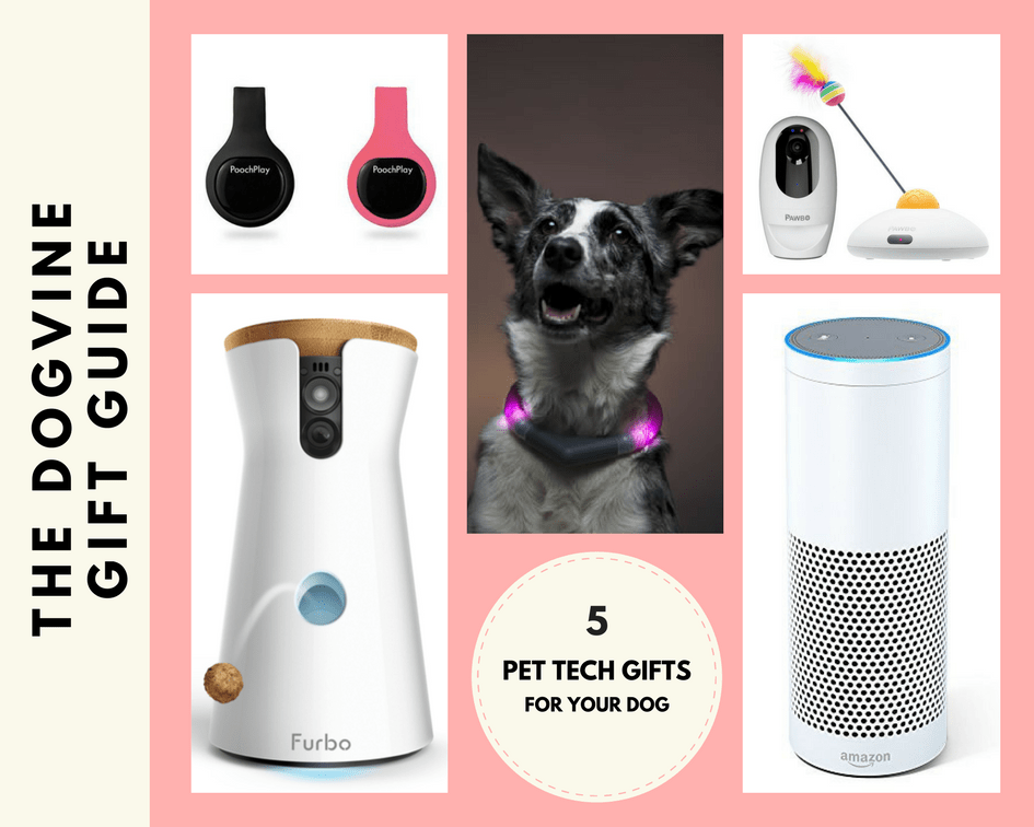 Pet Tech Gifts Collage