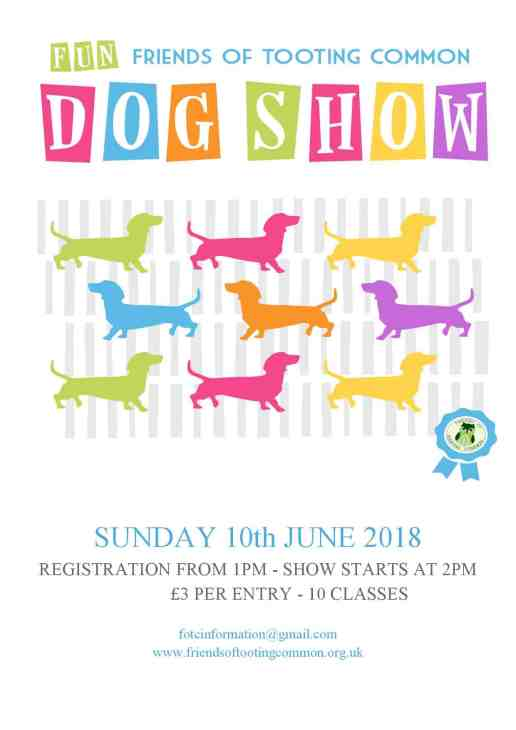 London Dog Events - Tooting Common Fun Dog Show 2018