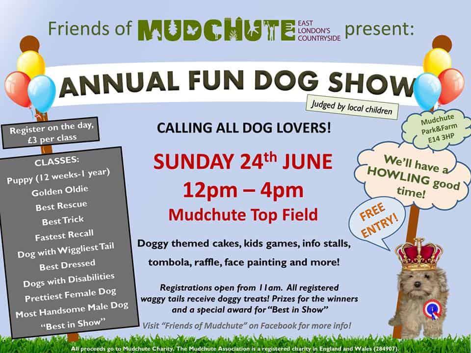London Dog Shows | Mudchute Fun Dog Show 2018