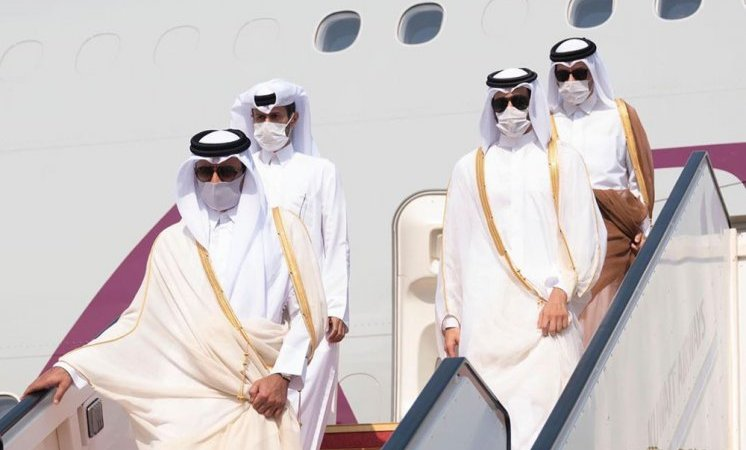 Amir arrives in Kuwait to attend Sheikh Sabah's funeral prayers