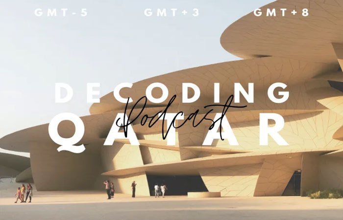 NU-Q students launch podcast to highlight Qatar