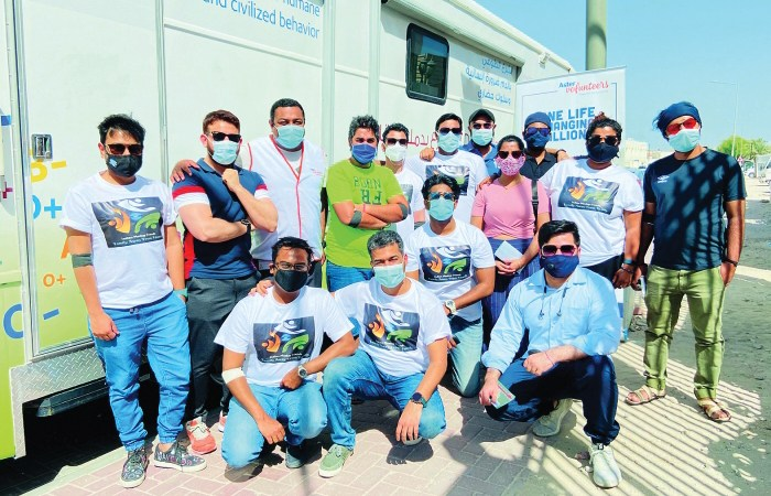Qatar Bloggers-Photographers, Indian Meetup Friends hold blood donation camp