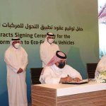 Prime Minister attends contract signing for environmentally friendly vehicles