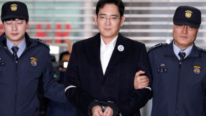 Samsung Electronics vice-chairman sentenced to two-and-a-half years in prison
