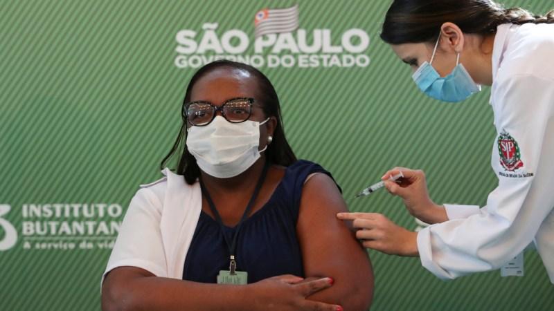 Brazil kicks off nationwide Covid-19 immunisation programme