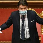 Italy PM Giuseppe Conte narrowly wins confidence vote in upper house Senate