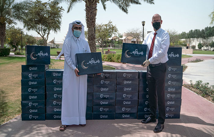 Doha Festival City donates 1,000 Ramadan boxes to those in need