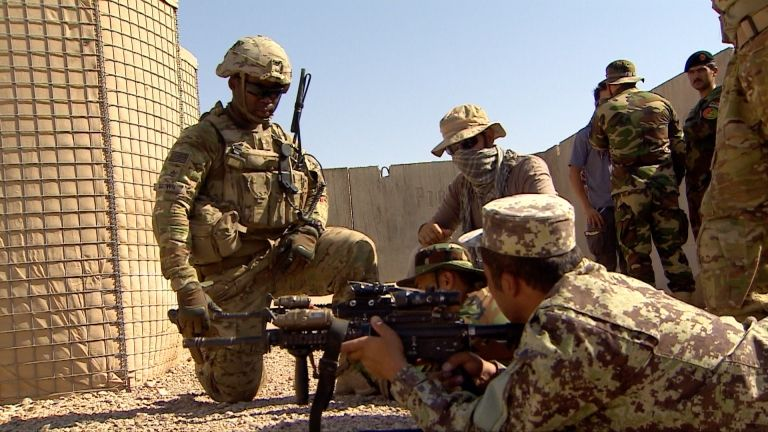 US says troops to leave Afghanistan by 11 September