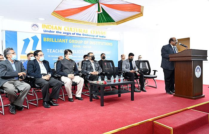 Brilliant Group organises Teachers Felicitation Ceremony
