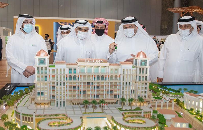 """""""United Development"""" launches sales of Crystal Residence in """"Jewan"""" at Cityscape Qatar"""