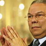 Memorial service for former US secretary of state Colin Powell on 5 November