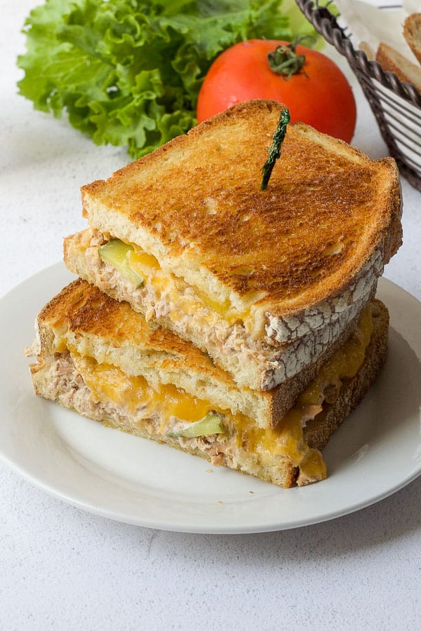 Kid Friendly Tuna Melt The Domestic Dietitian