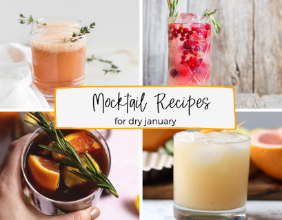 mocktail recipes for dy january