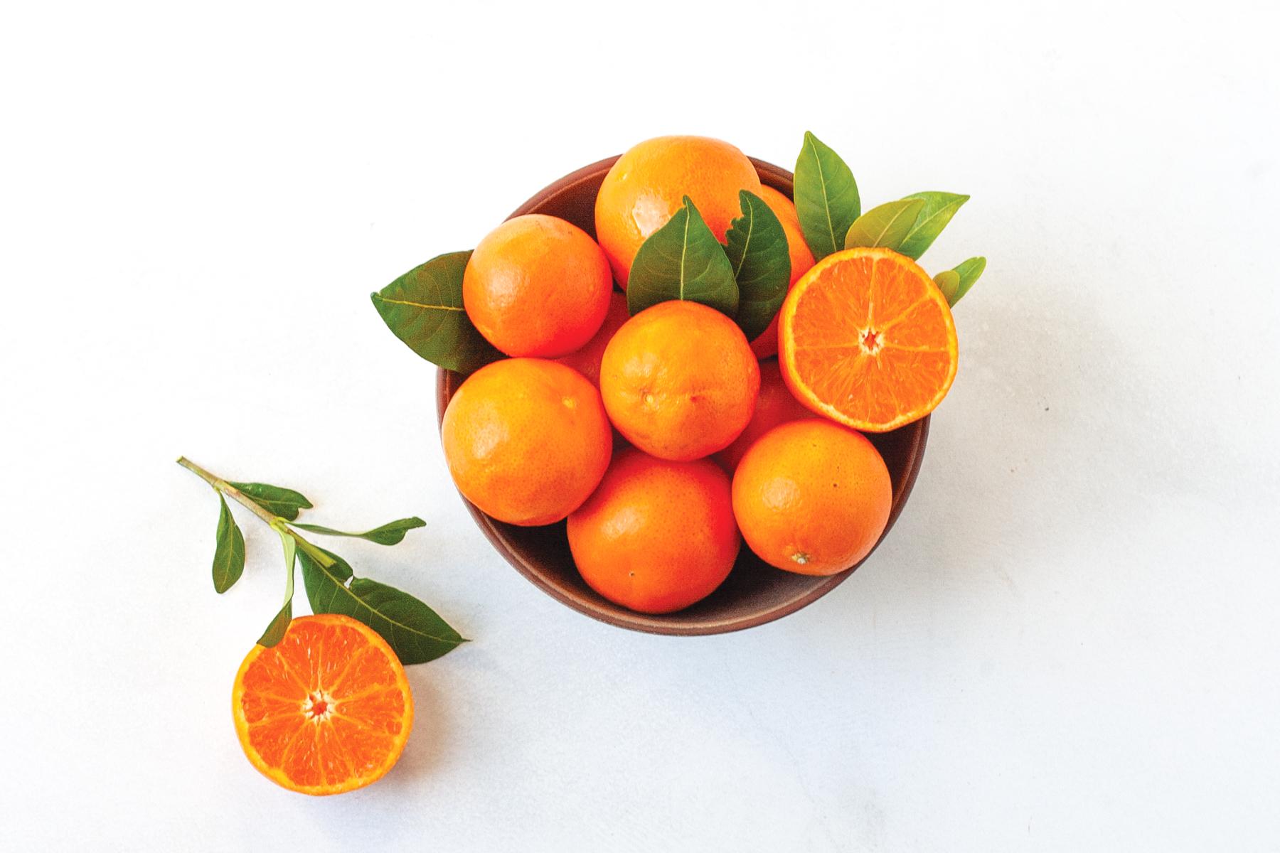 oranges as health benefit of fiber