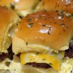 Mini Garlic Cheeseburger Recipe for Game Day