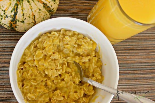 Pumpkin oatmeal 600x400