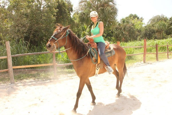 Horseback Riding at Bonanza Ranch, Mexico