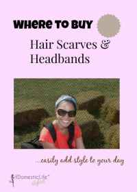 Hair Accessories: Insider tips on where to buy hair scarves and how to wear them