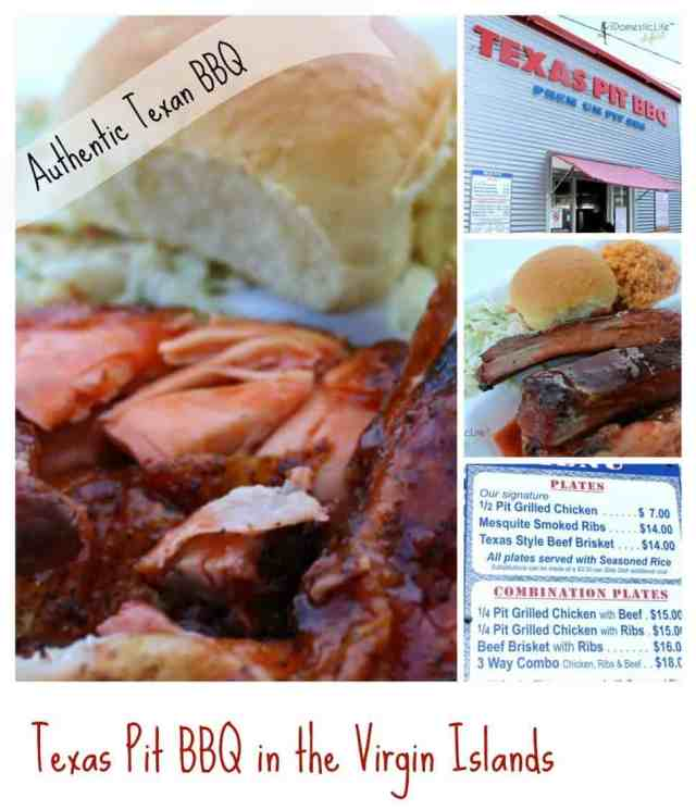 Texas pit bbq food in st. thomas, virgin islands