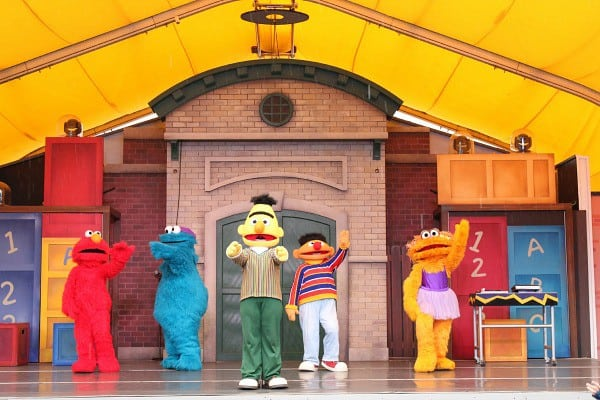 sesame character show