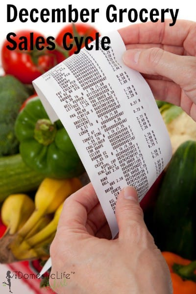 December Grocery Sales Cycles