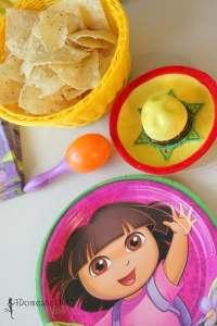 dora the explorer cooking party