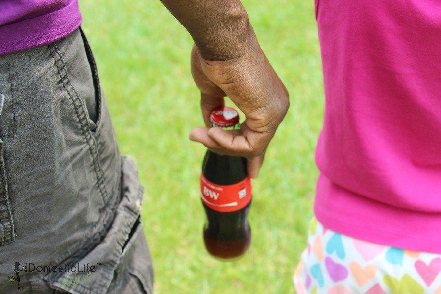 personalized coke bottle