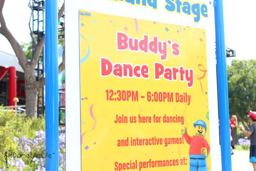 buddy's dance party