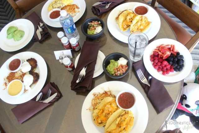 breakfast tacos at hill country resort in san antonio
