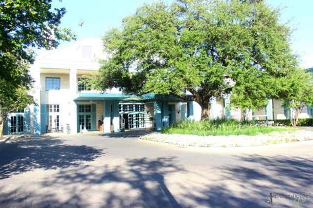 hyatt regency hill country resort entrance