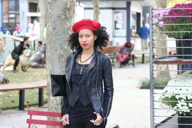 red-and-black-fall-street-style-red-beret-black-leather-jacket3