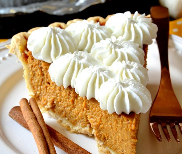 This Truly Is The Most Perfect Pumpkin Pie A Buttery Flaky Crust Filled To The