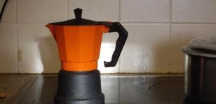 Italian stove top coffee pot - 08 December