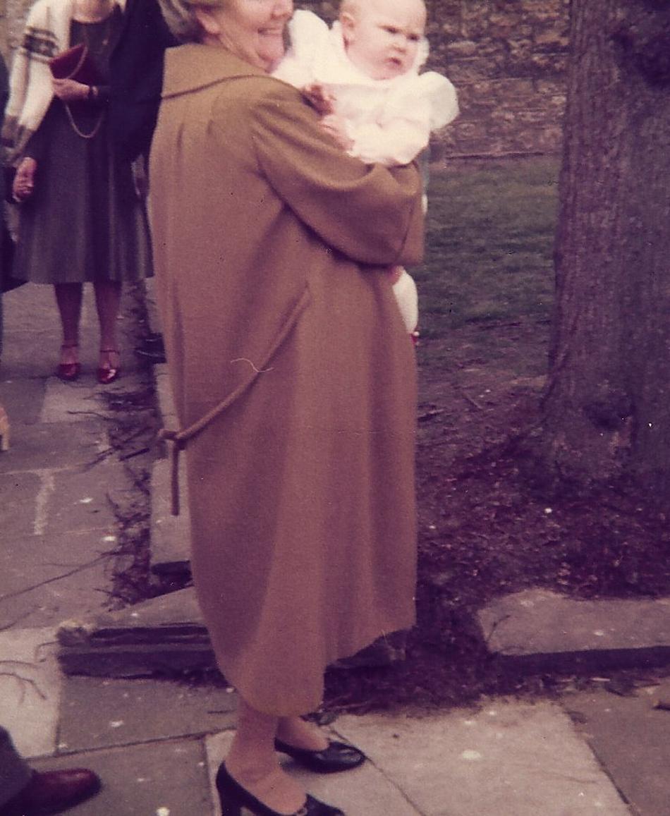 Felicity's Baptism 1980