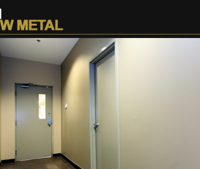Vision Hollow Metal Interior Commercial Doors