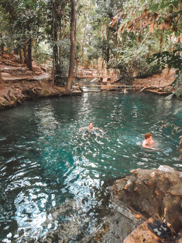 Natürlicher Pool im Khao Yai Nationalpark