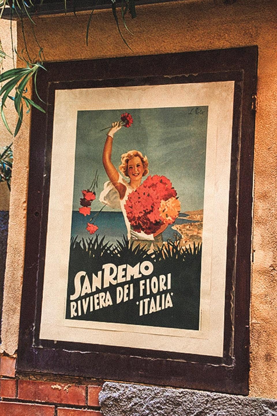 San remo an der Blumen Riviera