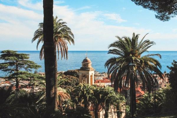 Blick über San Remo